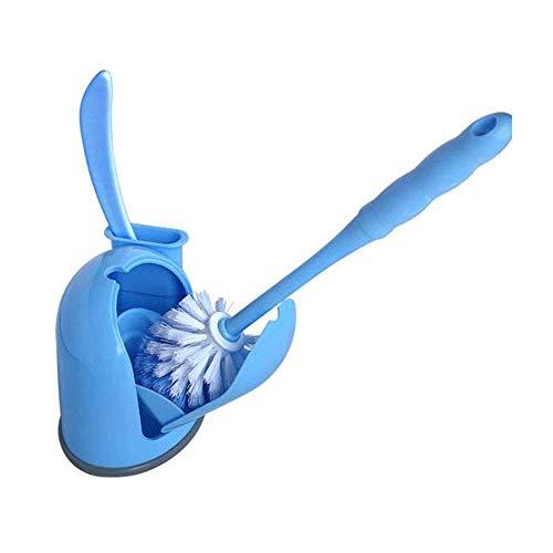 Prodotti per la pulizia Bermnn WC Set Scopino, delle famiglie Set bagno spazzola di pulizia, di plastica Dimensione pennello Apertura e chiusura igienici Spazzola, Nordic Stile Moderno spazzola di pul