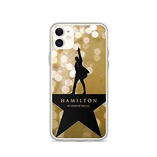 Horseshoe's Compatible with iPhone 11 Case Hamilton Musical Logo Spark Stars Background Pure Clear Phone Cases Cover