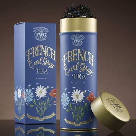 シンガポールの高級紅茶TWGオートクチュール FRENCHアールグレイ - 100gr並行輸入品