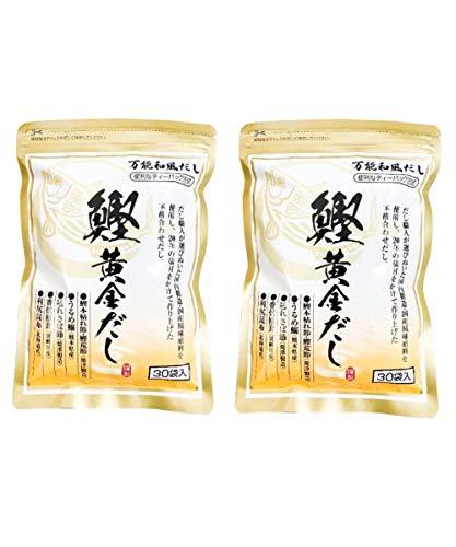 阿川食品 鰹黄金だし (8.8g×30包)2個セット 国産 万能だし 出汁 パック 和風 だしパック