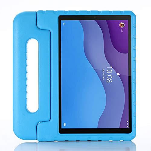 Funda para Lenovo Tab M10 HD TB-X306F TB-X306X 10.1' 2020, rígida, antigolpes para niños, con Kickstand, ligera protectora para Lenovo Tab M10 HD TB-X306F TB-X306X 10.1' 2020 (azul)