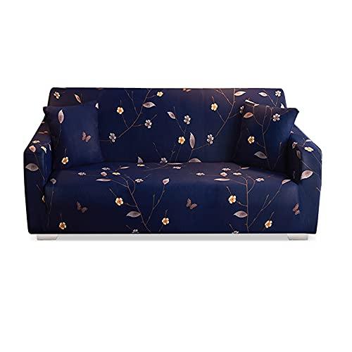 VanderHOME Funda de sofá elástica Antideslizante con poliéster y Spandex, Funda para Muebles Suave y Lavable Estampada con Espuma Antideslizante y Base elástica Borracho Deja 3