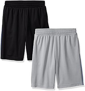 Amazon Essentials Boys' 2-Pack Mesh Short
