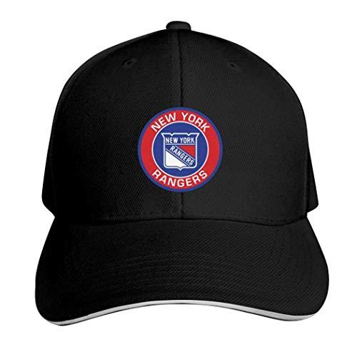 NewYorkRangers Kappe, neutral, verstellbar, für LKW-Fahrer, Herren, 457P341-HKQ-SAE, Schwarz , Einheitsgröße
