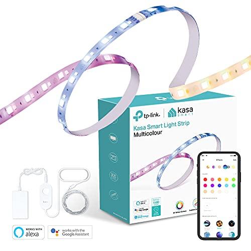 TP-Link Kasa KL430 Smart LED Streifen 2M, WiFi LED Stripe, APP Steuerung, Farbwechsel mit 16 Farbzonen, Szene und Lichteffekte, erweiterbar, kompatibel mit Amazon Alexa, Google Asisstant