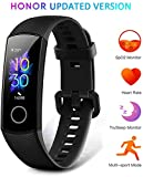 Wide.ling Honor Band 5 Smartwatch Orologio Fitness Tracker Uomo Donna Smart Watch...