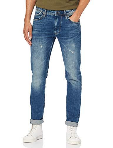 Pepe Jeans Spike Jeans Straight, Blu (Medium Used Powerflex Denim 000), 32W / 32L Uomo