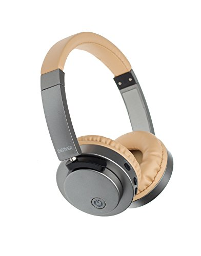 Denver BTN-206 Bluetooth On-Ear Kopfhörer, Beige