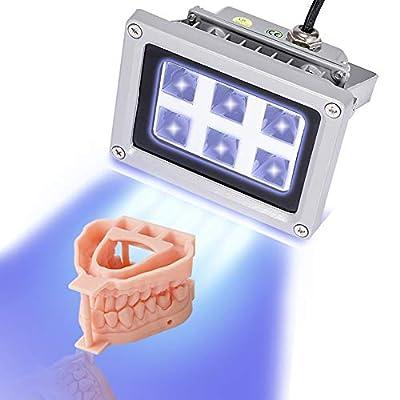 3D Printer UV Resin Curing Light for SLA DLP 3D Printer Solidify Photosensitive Resin 405nm UV Resin Affect, DIY Curing Enclosue