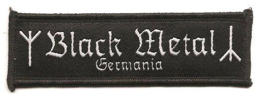 Unbekannt Black Metal Germania–Parche/Patch