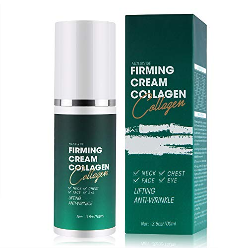 Retinol Moisturizer Cream, Anti Wrinkle Firming Cream Tightening Lifting Sagging Skin for Neck, Chest, Face, Eye, Double Chin Reducer Anti Aging Moisturizer for Neck & Décolleté (3.5 OZ/100ML)