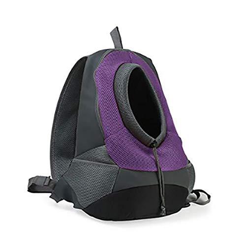 ZJF Suministros Esenciales Familiares Oxford Paño Malla Transpirable Mochila Mochila Portátil Portátil Travel out Backpack Port (Color : Purple, Size : S)