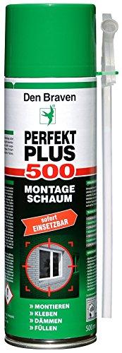 Den Braven AMO100100500 Perfekt Plus PU Montageschaum 1K B2 500 ml