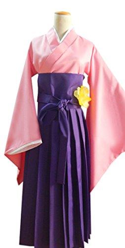 Dreamcosplay Anime Hetalia: Axis Powers Japan Female Purple Kimono Cosplay
