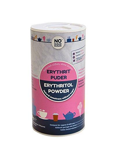 NO SUGAR SUGAR | Erythrit Puder (250g Streudose) Puderzuckerersatz kalorienfrei