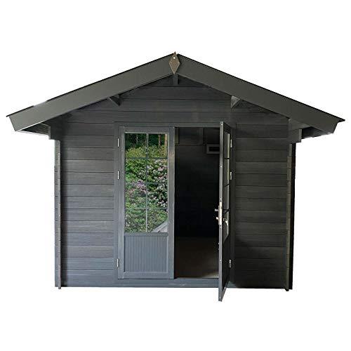 HORI® Gartenhaus I Gerätehaus aus WPC I 295 x 295 cm I Modell: Trend B