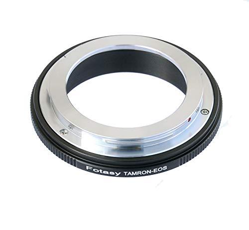 Fotasy Copper Tamron Adaptall Lens to Canon Adapter, Infinity Focus, Compatible with Canon DSLR 6D, 5D Mark IV III II 1Ds 1D Series 7D II 7D 80D 70D 60D 50D 1300D 1200D 1100D 1000D 760D 750D 700D 650D, Model:EFTM