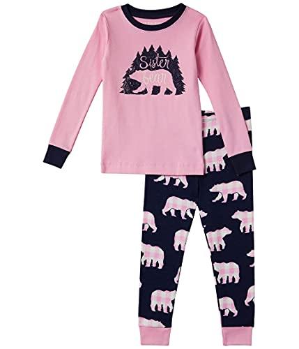 Hatley Little Blue House by Pajama Set Juego de Pijama, Sister Bear, 8 Years para Niñas