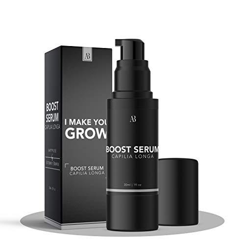 Anthony Brown® Bartwuchsmittel Männer - belegte Wirkung durch Capilia Longa für mehr Bartwuchs - Bart Wachstum Mittel ohne Nebenwirkungen