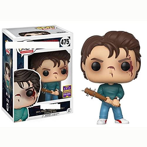 Figurines Pop Film d'horreur Stranger Things Saison 1 Steve #475 Figurine Jouets Collection Poupées Cadeaux pour Enfants avec Boîte 10Cm