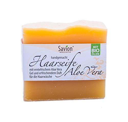 Savion Haarwaschseife Aloe Vera, 85 g