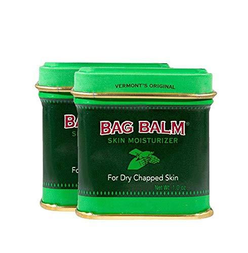 Vermont's Original Bag Balm Skin Moisturizing Ointment for Dry, Cracked Skin - 1oz Tin - 2 Pack