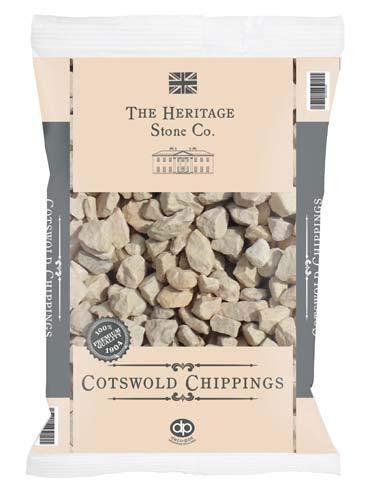 Deco Pak Cotswold Chippings Garden Gravel Stones - 20kg Bag