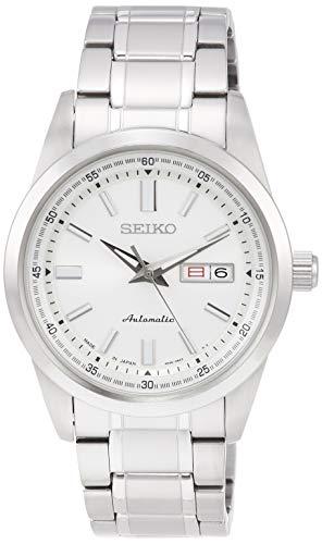 [セイコーウォッチ] 腕時計 セイコー セレクション Mechanical(メカニカル) 自動巻(手巻つき) 裏ぶたシースルーバック デイデイト表記 日常生活用強化防水(10気圧) SARV001 メンズ シルバー