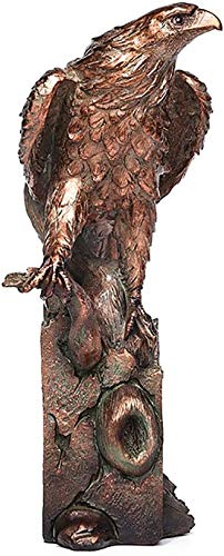 Sculptures Eagle Animal Statue Iron Freedom's Pride Eagle Statues Ornament Art Decor Gifts Home & Office Decoration