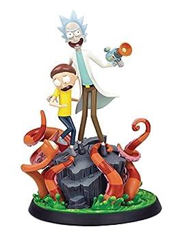 Mondo Tees Rick & Morty Statue Multicolor,12 inches