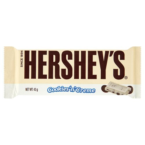 The Hershey Company Cookies 'n Crème, 18er Pack (18 x 43 g)