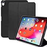KHOMO iPad Pro 11 (2018) Smart Cover Ultradünne & Leichte Schutzhülle mit Stehfunktion & Magnetischem Verschluss - Schwarz