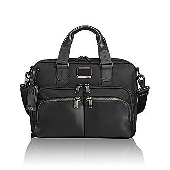 TUMI - Alpha Bravo Albany Laptop Slim Commuter Brief Briefcase - 14 Inch Computer Bag for Men and Women - Black