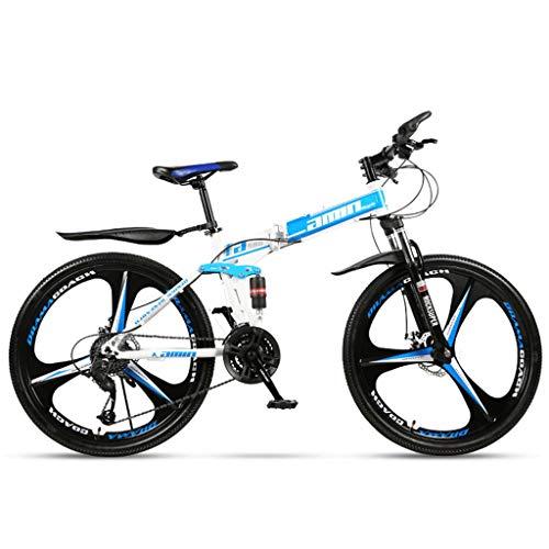 Duschkopf Bicicletta elettrica Pieghevole Variabile Folding Bike-26 Pollici Speed Wheel Mountain Bike Doppio Assorbimento di Scossa Uomo Donne Sistema di Sport Esterni della Bicicletta, Grande