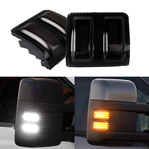 XTAUTO LED Side Mirror Marker Light Replacement Compatible With Ford 13-14 F-150...
