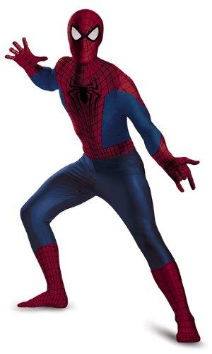 Disguise Men's Marvel The Amazing Spider-Man Movie 2 Spider-Man Bodysuit Costume