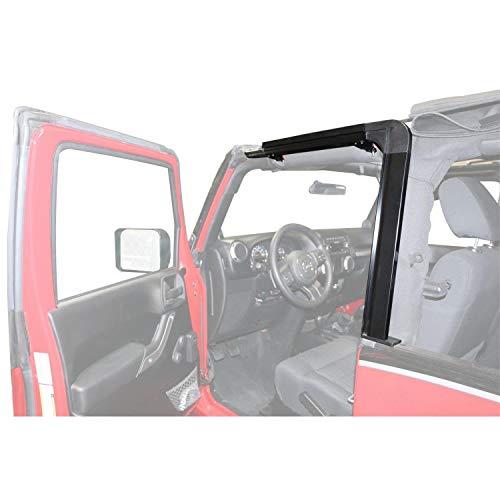 Rampage Products 61099 Black Door Surround Kit for 2007-2018 Jeep Wrangler JK 2-door