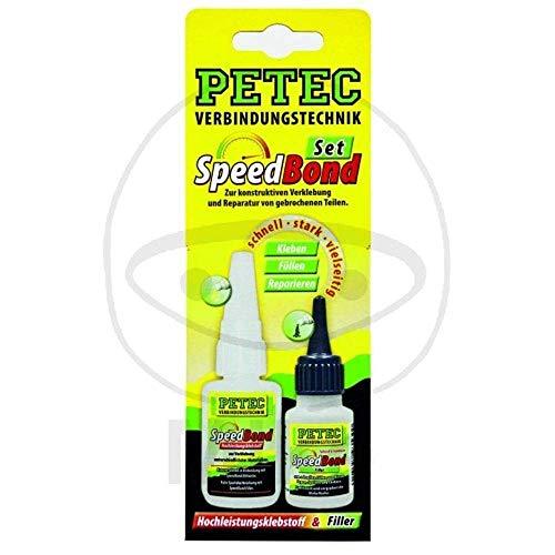 Petec 93550 Speed Bond Kit, Haute Performance