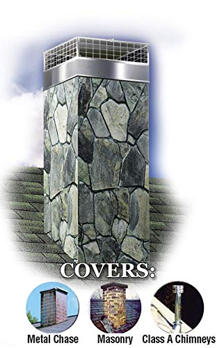 Best Prices! Decorative Chimney Housing Kit (Stacked Stone 1)