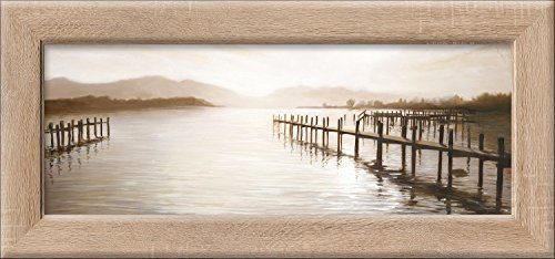 "Pro-Art cp310l17 Wandbild New Classic Wood \""Mountain Lake\"", 94 x 44 cm"