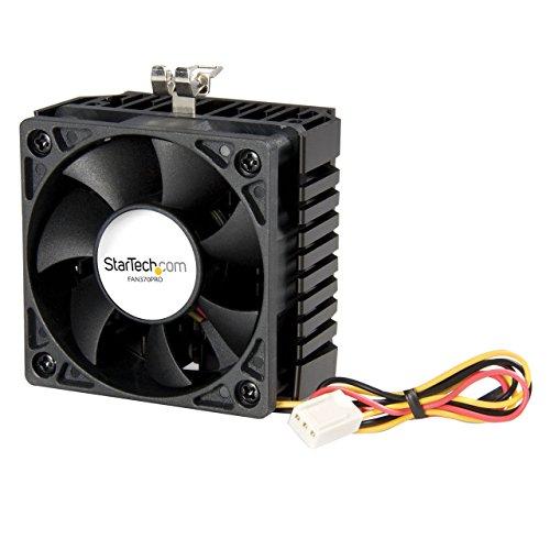 StarTech.com 65x60x45mm Sockel-7/370 CPU-Lüfter mit Kühlkörper & TX3 (3-pin) Stecker
