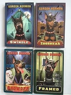 Gordon Korman's Swindle Series - 4-volume Set: Swindle / Zoobreak / Framed / Show Off