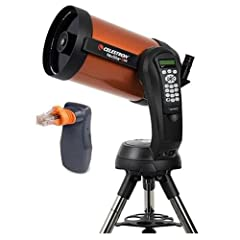 "Optical Tube Assembly - 25mm 1.25"" E-Lux Eyepiece - Star Pointer Finderscope - Visual Back (1.25"") - 1.25"" 90-Degree Mirror Diagonal - Computerized Altazimuth Mount with Handset - Tripod with Accessory Tray - NeNexRemote Telescope Control Software (O..."