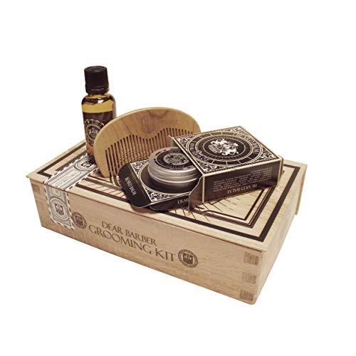Dear Barber Beard Grooming Mens Gift Set Collection Abbildung 2