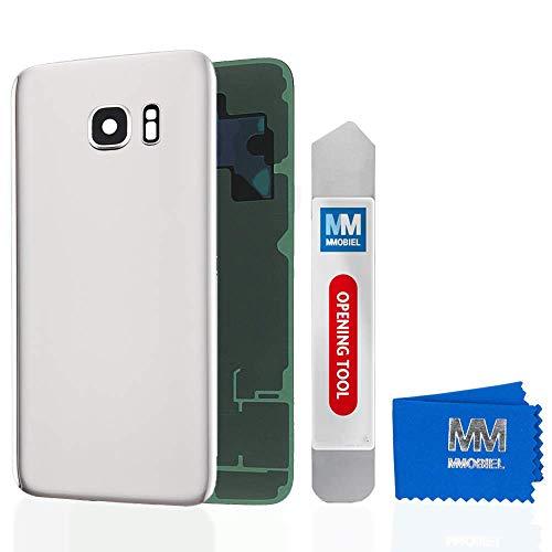 MMOBIEL Tapa Bateria/Carcasa Trasera con Lente de Cámara Compatible con Samsung Galaxy S7 G930 5.1 Pulg. (Blanco)
