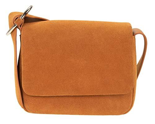 CINQUE Cleo Crossover Bag Cognac