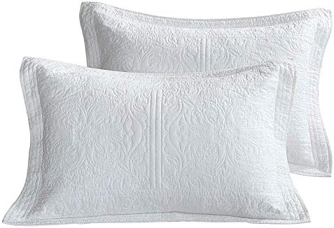 SUCSES Cotton Embroidered Pillow Shams Ranking TOP14 Max 61% OFF Standard Size Floral Pri