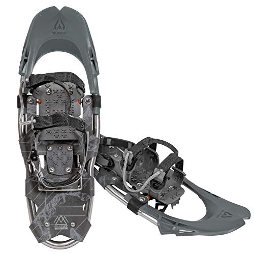 Wildhorn Delano Snowshoes for Women and Men. Lightweight Adjustable Binding All-Terrain TPU Cold Resistant Aluminum Frame Snow Shoes