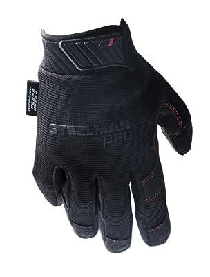 Steelman Pro Black Mechanic Touch Gloves