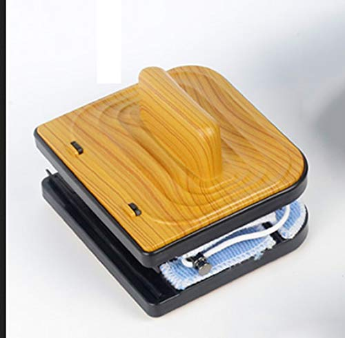 WP Limpiacristales Magnético de Ventanas,de Doble Acristalamiento Cuadrado Limpiador de Vidrio de Dos Lados con 6 Limpiador y 2 raspadores,Adecuado para Vidrio de 18-30 mm,Yellow